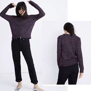 Madewell Shimmer Pullover Women's Sweater NWT L